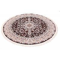 Классический круглый ковер (темно-коричневый) 150*150 см