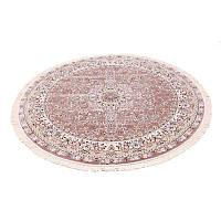 Классический круглый ковер (коричневый) 250*250 см