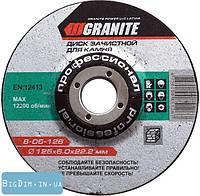 Диск абразивный зачистной для камня 115 мм MasterTool 8-05-116