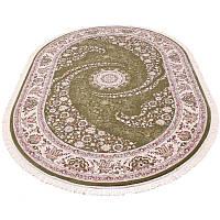 Овальная ковровая дорожка (зеленый) 200*290 см.