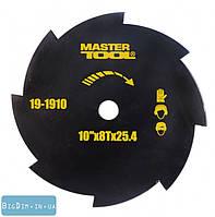 Диск для косилки 10 х8Тх25,4 255 мм MasterTool 19-1910