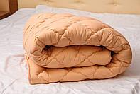 Стеганное  двуспальное одеяло овечья шерсть ОДА