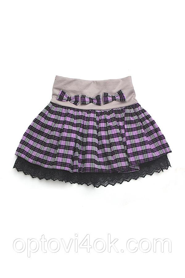 Детская юбка для школы