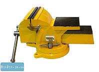 Тиски слесарные поворотные 125 MasterTool 07-0212