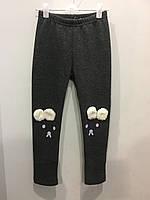 Лосины с ушками на меху для девочки 116 см, фото 1