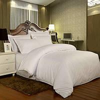 Двуспальный комплект. Белая полоса.Турция для отелей и гостиниц.