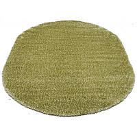 Овальный коврик с длинным ворсом (разные цвета) 150*230 см