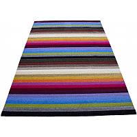 Яркий полосатый коврик 240*160 см.