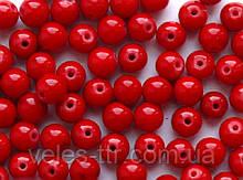 Бусины Коралл красный пресс 12 мм 1 шт