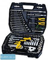 Набор ключей и насадок торцевых  121 шт в кейсе 1 MasterTool 78-5121