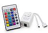Контроллер для RGB светодиодной ленты с ПДУ 12В 24 кнопки