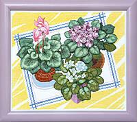 """Набор для вышивания крестом ВТ-084 """"Зимний сад"""" Crystal Art"""