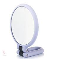 Зеркало косметическое двухстороннее (диам. - 14 см)