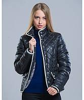 Куртка осень - 8 черный р. 42-48