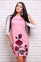 Женское нарядное платья свободного кроя