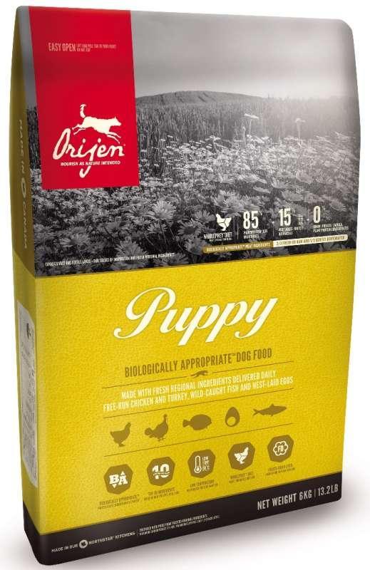 Orijen Puppy 6 кг- корм для щенков (мясо 85%)