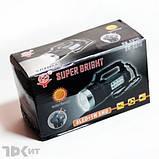 Ручний ліхтарик на сонячній батареї Super Bright BW-6870, фото 5