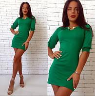 Женское короткое платье с коротким рукавом g-14PL2019