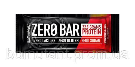 Zero Bar 50 гр шоколадно - сливовый BioTech