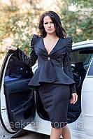 Костюм пиджак+юбка 567-568 (ГЛ), фото 1