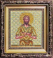 Набор для вышивания бисером Б-1149 Икона святой Алексий, человек Божий