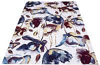 Яркий цветочный ковер 114*170 см., фото 1