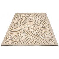 Современный коврик с рисунком-абстракцией 80*150 см.