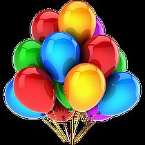 Воздушные гелиевые шарики 12