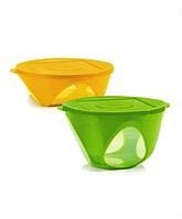 "Набор "" Аркадия"":чаши (2,5 л/4,3 л), Tupperware"