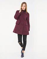 Нарядное осеннее пальто из высококачественной итальянской шерсти l-aPA106