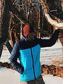 Весенняя модная куртка Победов - Pobedov Double Colour Spring Jacket( Blue - Navy )
