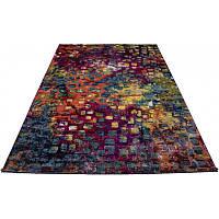 """Разноцветный коврик с рисунком """"абстракция"""" 160*230 см"""