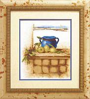 Набор для вышивки крестиком №491 Средиземноморский натюрморт