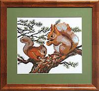 """Набор для вышивания крестом №553 """"Завтрак в лесу"""""""