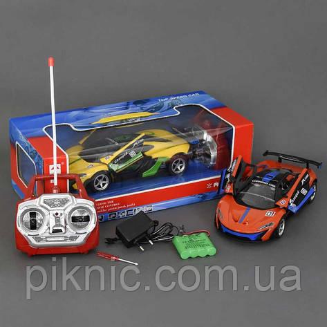 Машина на пульте управления, р/у, с аккумулятором, 2 цвета, в коробке. Игрушечная машинка на радиоуправлении, фото 2