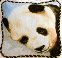 """Набор для вышивки подушки №407 """"Панда"""""""