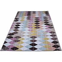 Разноцветный коврик в современном стиле 160*230 см
