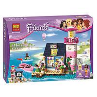 "Конструктор Friends (Френдс) ""Маяк Хартлейк Сити"" 478 деталей, Bela 10540 (аналог LEGO Friends 41094)"