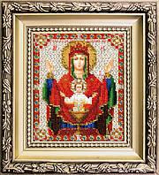 Набор для вышивания ювелирным бисером БЮ-010 Икона Божьей Матери Неупиваемая чаша