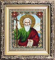 Набор для вышивания ювелирным бисером БЮ-015 Икона святого апостола Андрея Первозванного