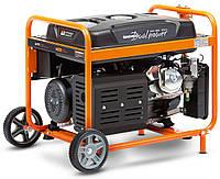 Бензиновый трехфазный генератор (7,5 кВт) Daewoo GDA 8500DPE-3 (220/380 В, 18 л. с., 445 куб. см,