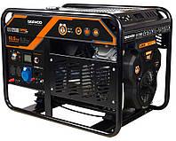 Бензиновый генератор (10,5 кВт) Daewoo GDA 12500E (220 В, количество фаз 1, мощность двигателя 21 л. с., 690 куб. см, розетки 220 В×16 А/220 В×16