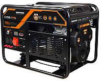 Бензиновый трехфазный генератор (11 кВт) Daewoo GDA 12500E-3 (максимальная мощность (220/380 В)- 5/11 кВт, количество фаз 3, мощность двигателя 21 л.
