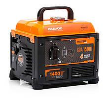 ⭐ Бензиновый инверторный генератор (1,4 кВт) Daewoo GDA 1500i (220 В, 4-х тактный)