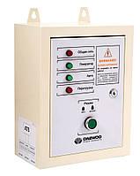 Блок автоматического управления генератором Daewoo ATS 12500E (220 В, номинальная мощность 10 кВт, номинальное напряжение генератора генератора 220 В)