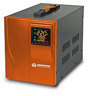 Стабилизатор напряжения (500 Вт) Daewoo DW-TZM500VA (ток потребления 0,025 А, диапазон входного напряжения 140-270 В, выходное напряжение 220 В,