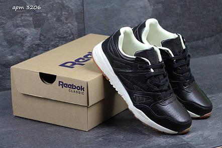 Мужские кроссовки Reebok Hexalite черно-белые, фото 2