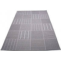 Кофейный безворсовый коврик 240*330 см.