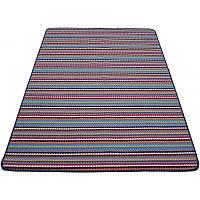Разноцветный тафтинговый ковер 200*140 см.