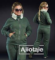 Теплый женский спортивный костюм - 17026